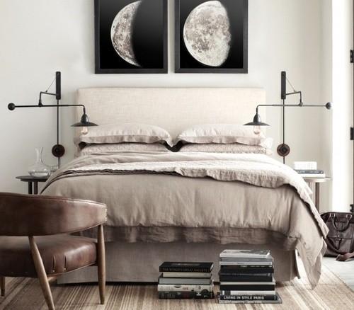 obrazy w sypialni