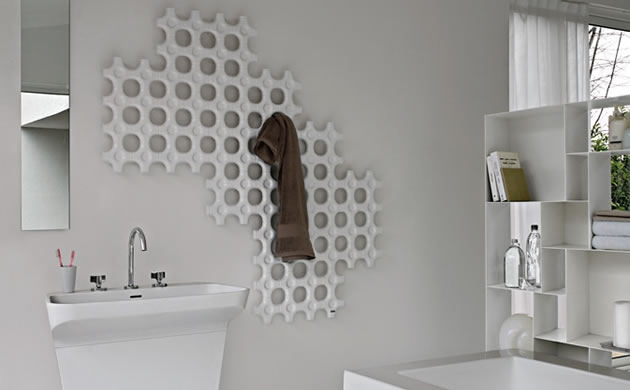 grzejnik dekoracja łazienka designer-radiators