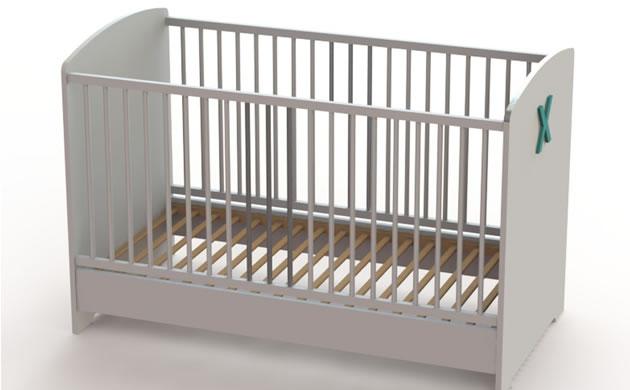 Łóżeczko niemowlęce VX ATB