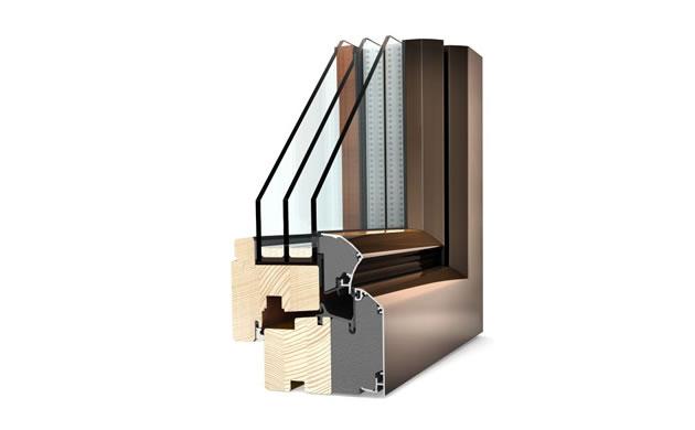 Okna drewniane - schemat