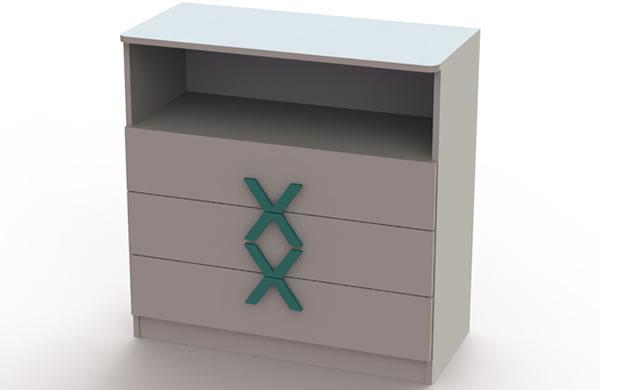 Szafka - pokój dziecięcy VX