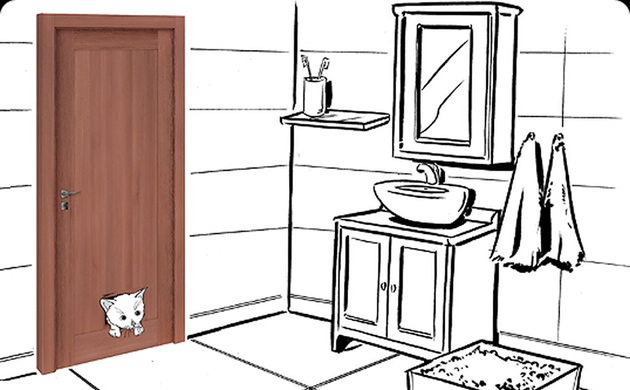 Drzwi dla kota - VOX