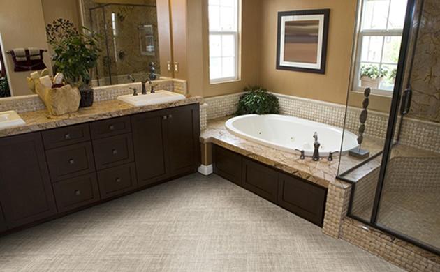 Drewno I Winyl Zamiast Płytek Ceramicznych łazienka