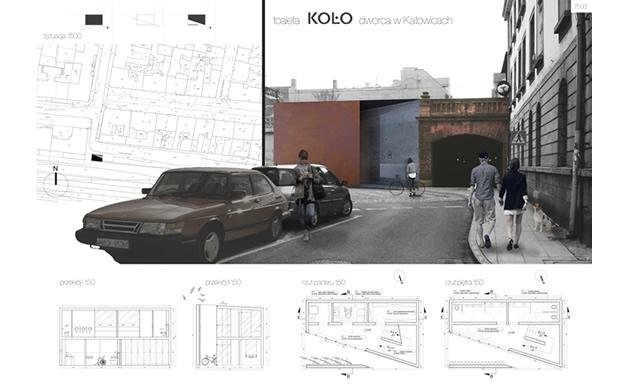 Projekt łazienki - konkurs Koło Katowice