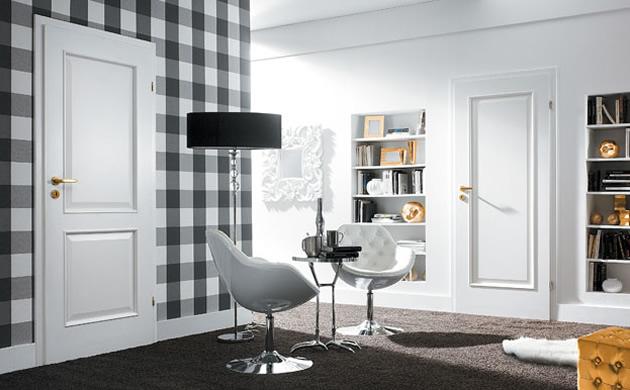 Drzwi Porta czerń i biel