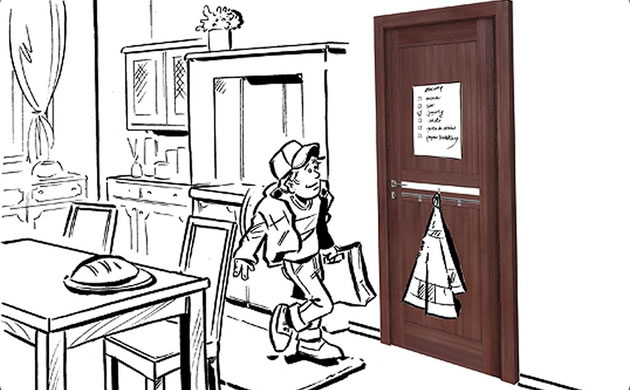 Drzwi kuchenne VOX