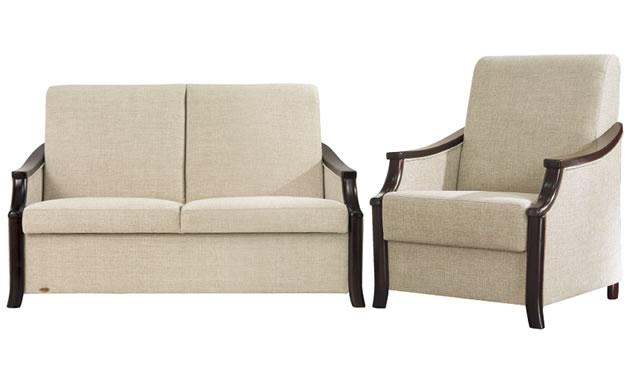 Kolekcja Elegant IV Unimebel - sofa i fotel