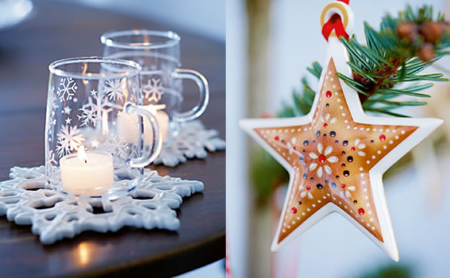Ozdoby świąteczne i lampiony