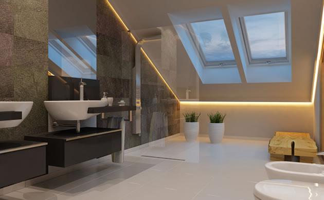 Projekt łazienki AFD Interiors