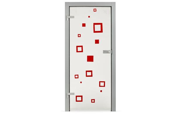drzwi szklane reliefowe Kopp Florence no 22
