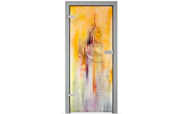 drzwi szklane reliefowe Kopp Florence