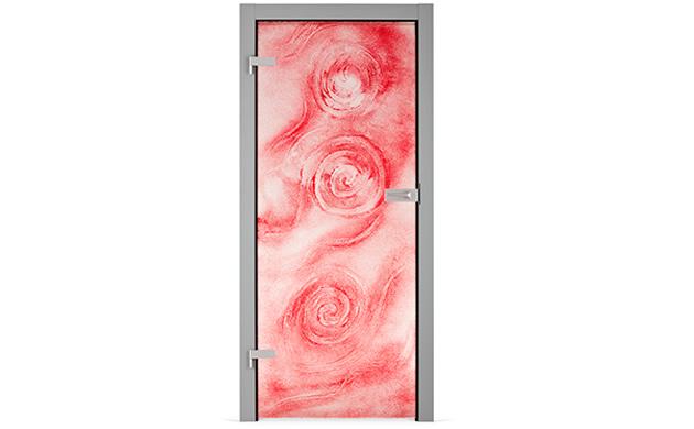 drzwi szklane reliefowe Kopp