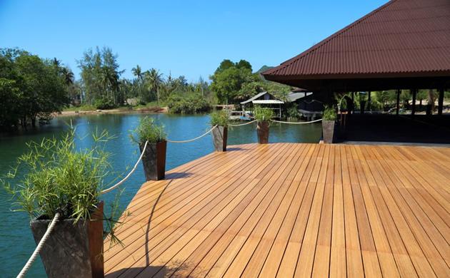taras bambusowy Kopp