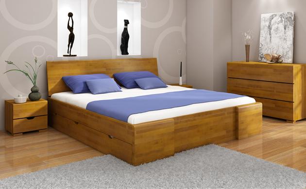 Łóżko marki Visby