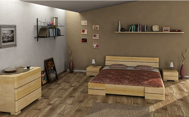 sypialnia VISBY meble sosnowe