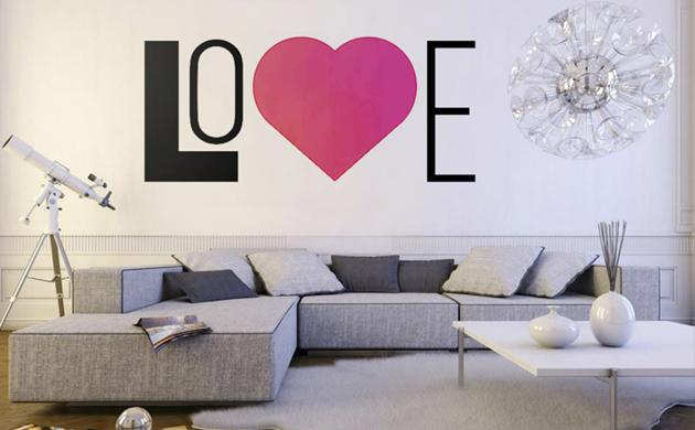 Naklejki ścienne Redro Love
