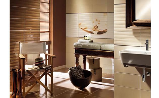 Grafiki I Fotografie Na Płytkach Ceramicznych łazienka