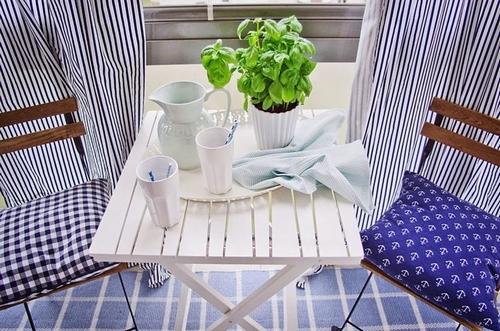urz dzamy balkon na wiosn inspiracje. Black Bedroom Furniture Sets. Home Design Ideas