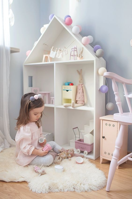 cotton balls lights w pokoju dla dzieci