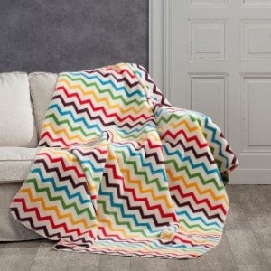 4_Dekoria.pl, koc Cotton Cloud Rainbow