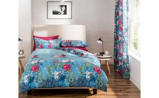 sypialnia dekoria