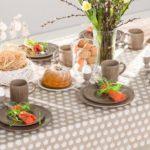 Dekoria, zastawa obiadowa z kolekcji Simple Cottage Brown
