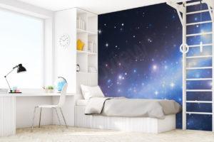 Fototapeta do pokoju dziecka z motywem kosmosu