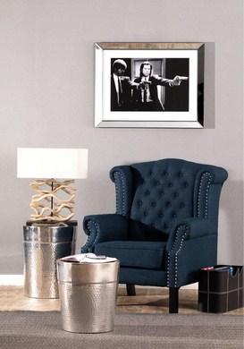 Dekoria.pl, Fotel Winchester navy blue (Kopiowanie)