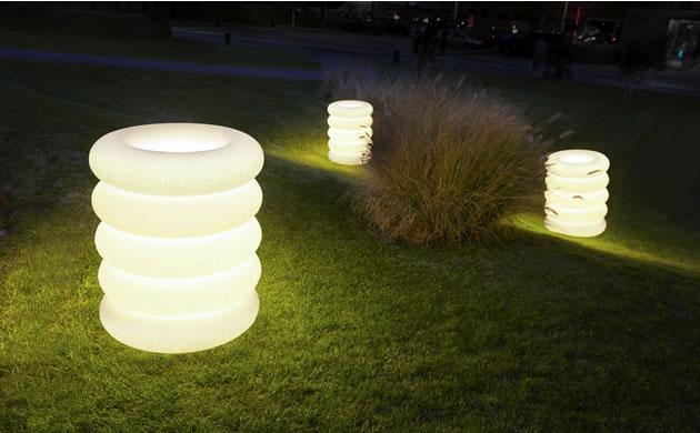lampy PUFF-BUFF ogrod