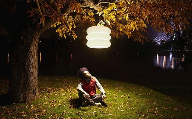 lampy PUFF-BUFF ogrodowe inspiracje