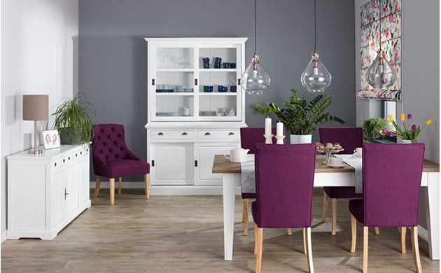 Dekoria, przykładowa aranzacja violet