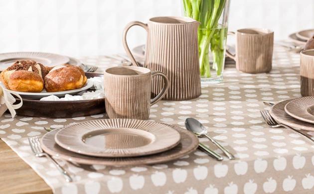 dzbanek ceramiczny Simple Cottage Brown Dekoria